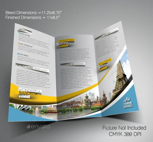 Free Travel Brochure Template Fresh Travel Brochure Template Free Download