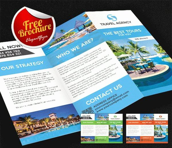 Free Travel Brochure Template Inspirational top 20 Free Vacation & Travel Brochure Templates In Psd