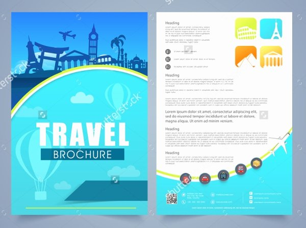 Free Travel Brochure Template Lovely 19 Travel Brochure Free Psd Ai Vector Eps format