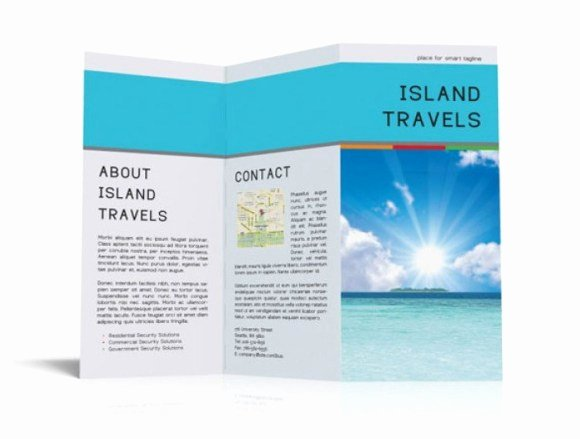 Free Travel Brochure Template Luxury 65 Print Ready Brochure Templates Free Psd Indesign & Ai