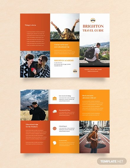 Free Travel Brochure Template Luxury Free Japan Travel Brochure Template Download 281