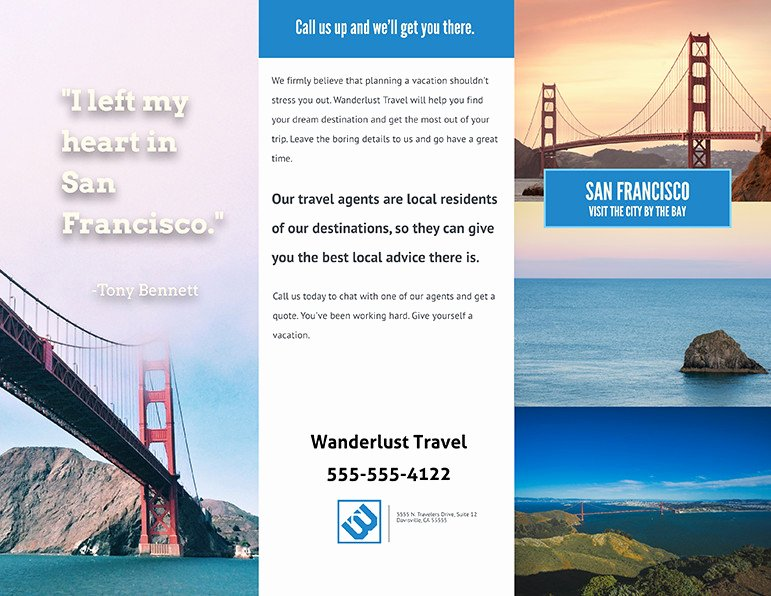 Free Travel Brochure Template New How to Make An Awesome Travel Brochure [with Free Templates]