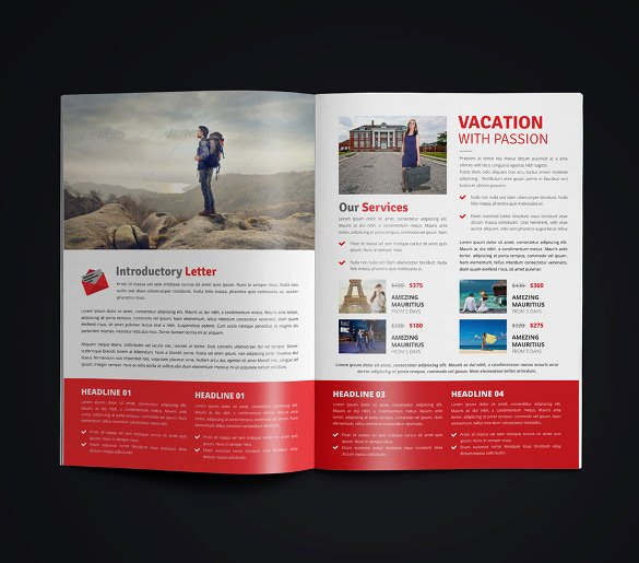 Free Travel Brochure Template Unique 50 Travel Brochure Templates Psd Ai Google Pages
