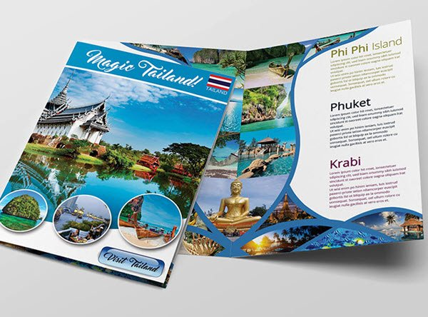 Free Travel Brochure Template Unique top 20 Free Vacation & Travel Brochure Templates In Psd