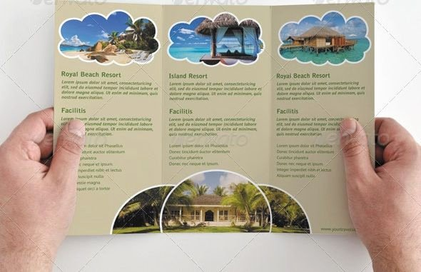 Free Travel Brochure Template Unique Tri Fold Brochure Template Travel Agency