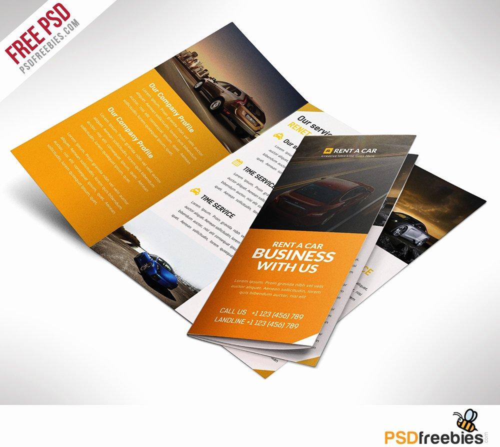 Free Tri Fold Template Beautiful 16 Tri Fold Brochure Free Psd Templates Grab Edit & Print