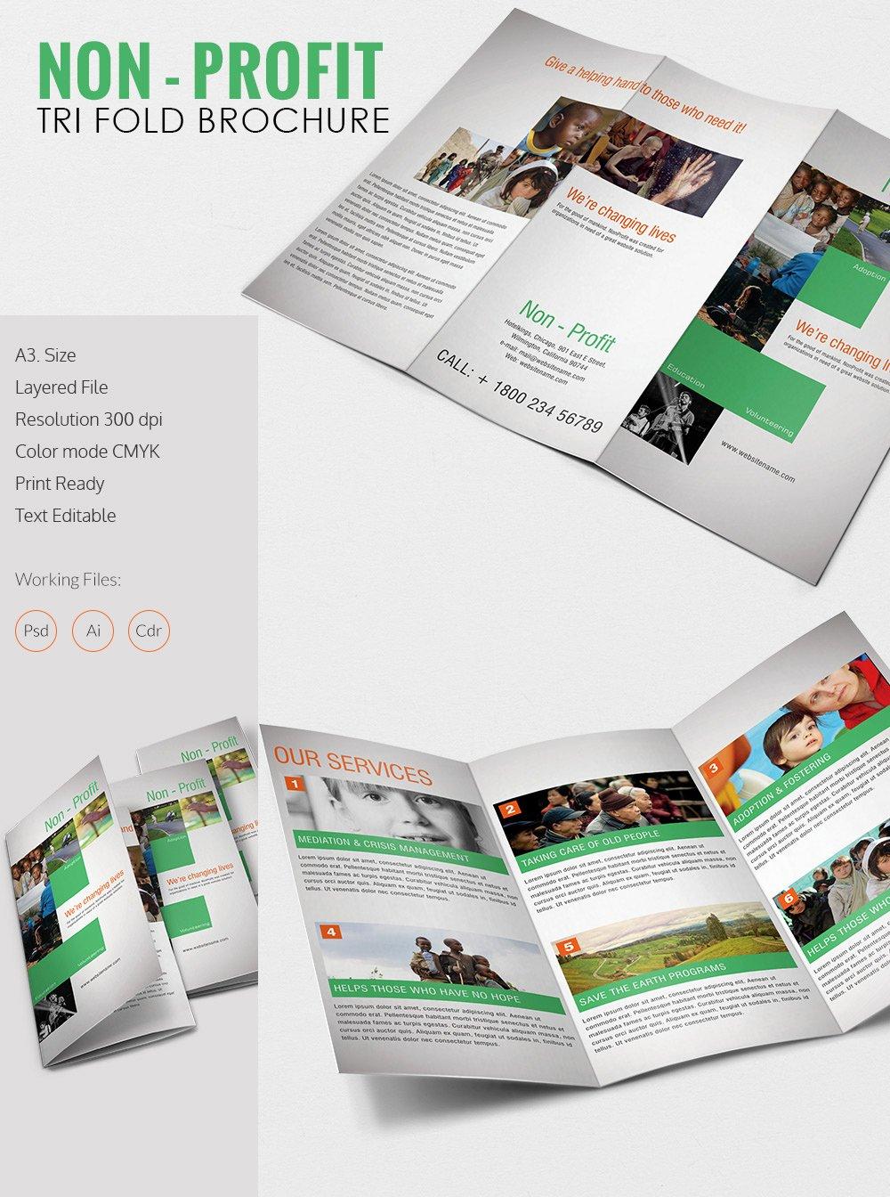 Free Tri Fold Template Fresh Tri Fold Brochure Template – 45 Free Word Pdf Psd Eps