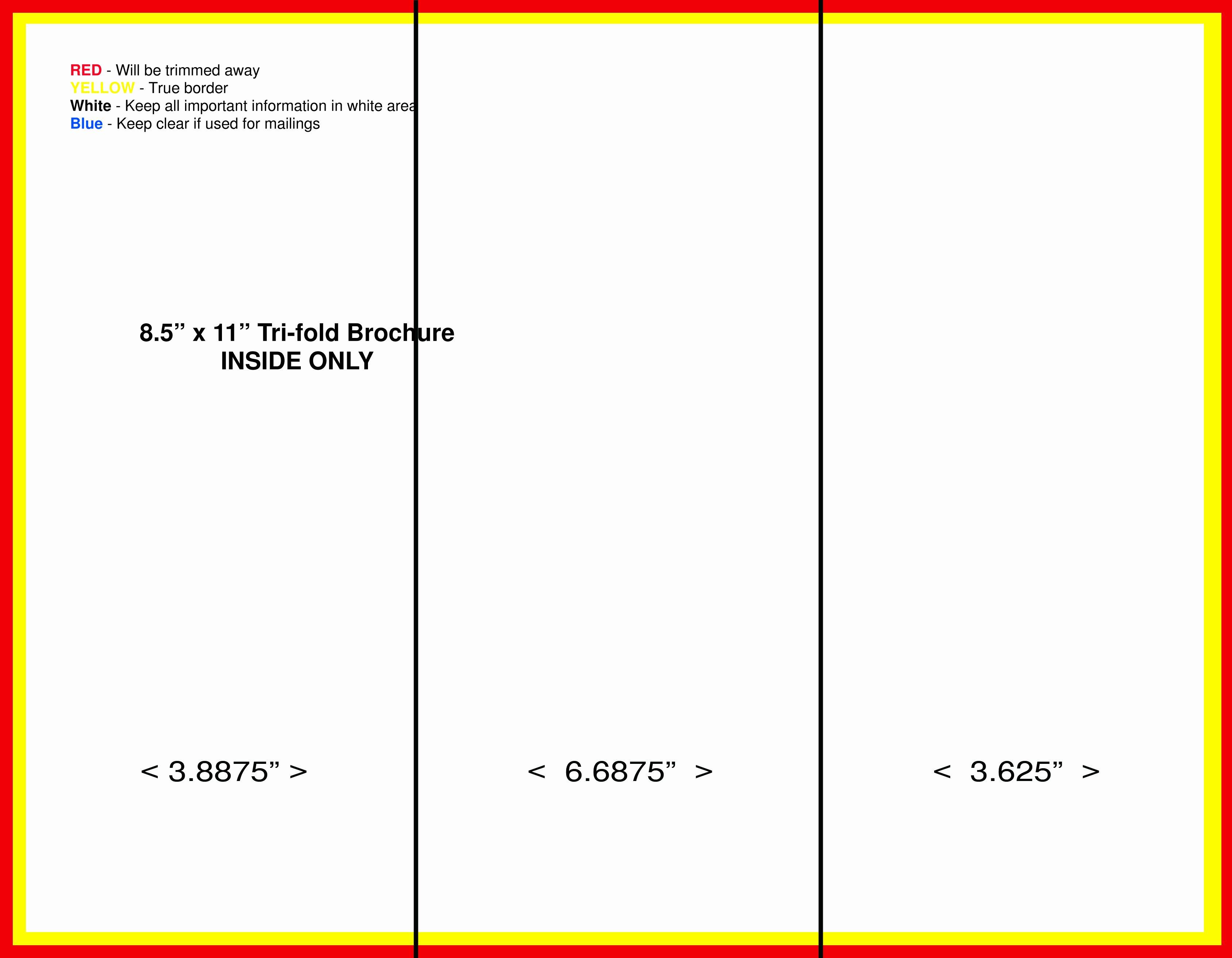 Free Tri Fold Template Fresh Tri Fold Brochure Template Microsoft Word