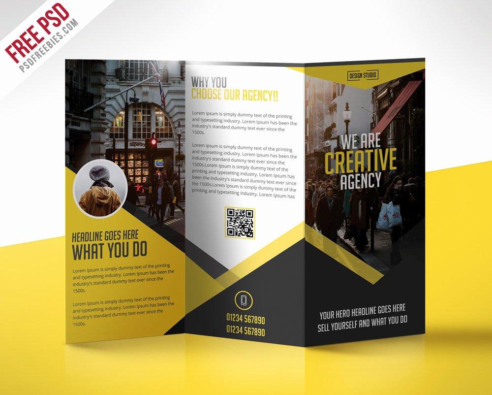 Free Tri Fold Template Luxury 69 Premium and Free Psd Tri Fold & Bi Fold Brochures