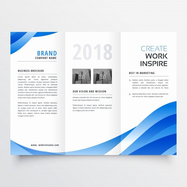 Free Trifold Brochure Template Awesome Creative Trifold Brochure Template Vector