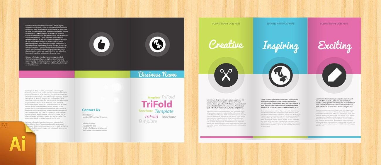Free Trifold Brochure Template Beautiful Free Corporate Tri Fold Brochure Template