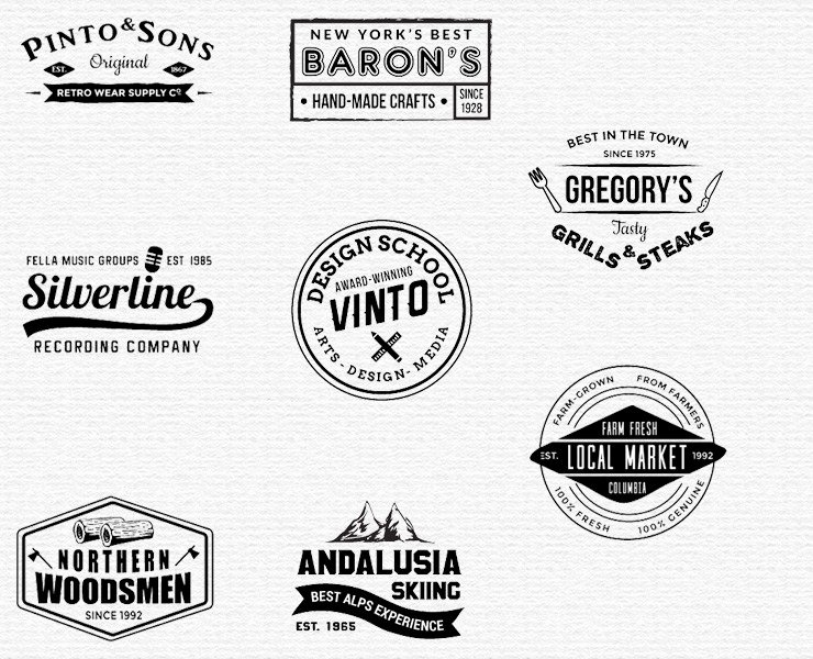 Free Vintage Logo Template Awesome Free Logo Templates for 300 Free Shop