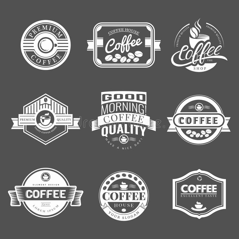Free Vintage Logo Template Beautiful Coffee Vintage Logo Stock Vector Illustration Of Label