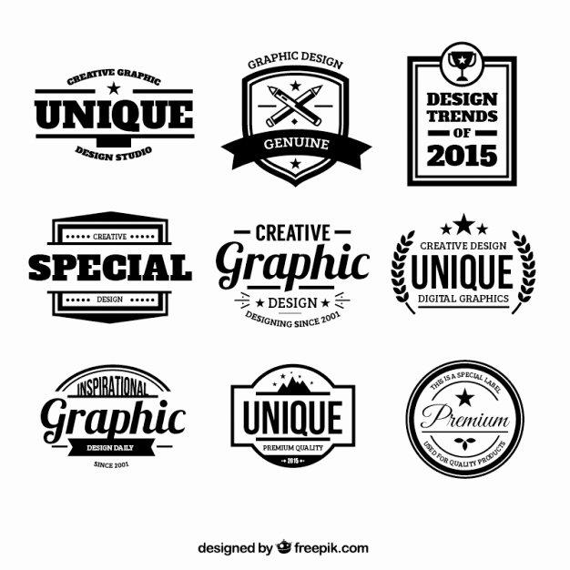 Free Vintage Logo Template Best Of Set 300 Free Logo Templates