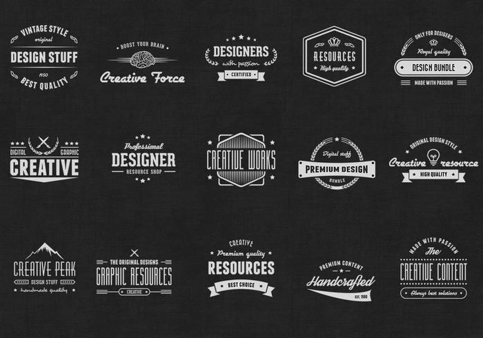 Free Vintage Logo Template Elegant Vintage Logo Psd Abzeichen Kostenlose Shop Pinsel