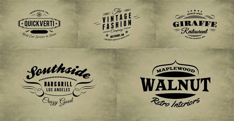 Free Vintage Logo Template Fresh 15 Free Vintage Logo & Badge Template Collections