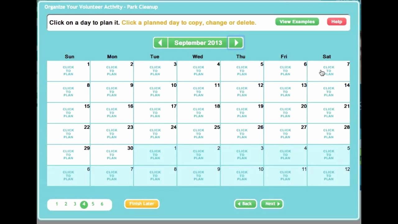 Free Volunteer Database Template New Creating An Line Sign Up Sheet or Volunteer Calendar