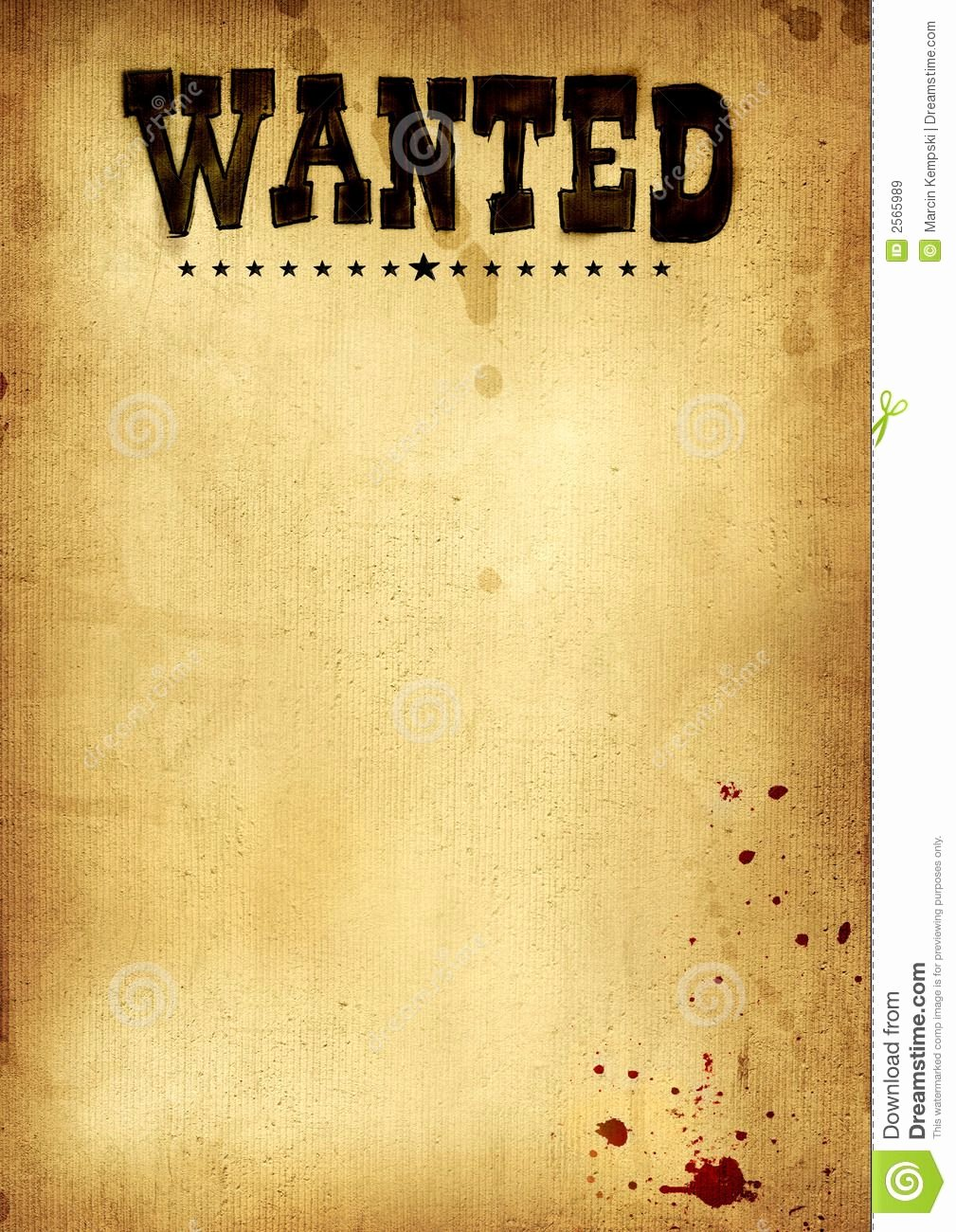 Free Wanted Poster Template Beautiful Free Clip Art Wanted Poster Template