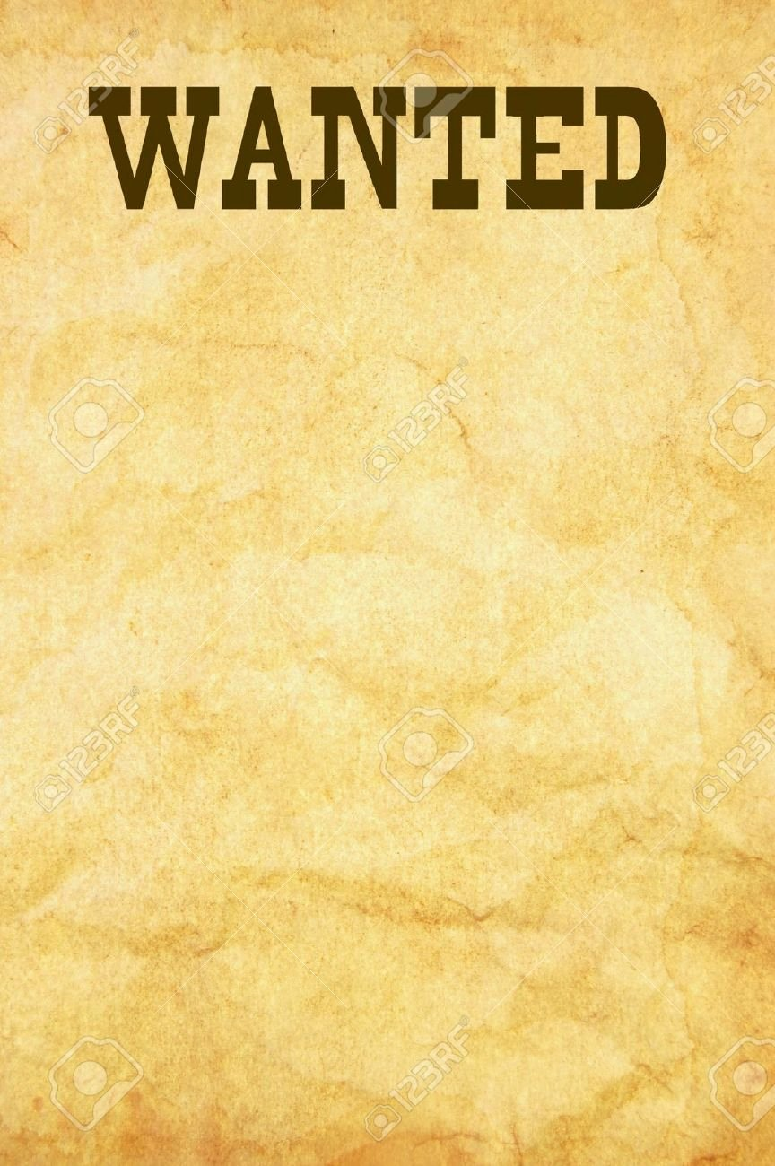 Free Wanted Poster Template Beautiful What's the Simplest Way Of Fashioning A Wanted Poster