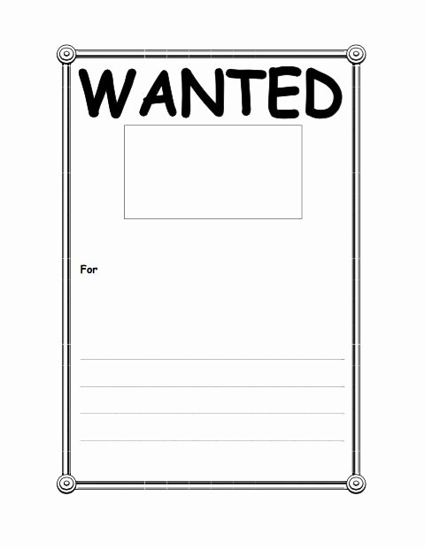 Free Wanted Poster Template Elegant 18 Free Wanted Poster Templates Fbi and Old West Free