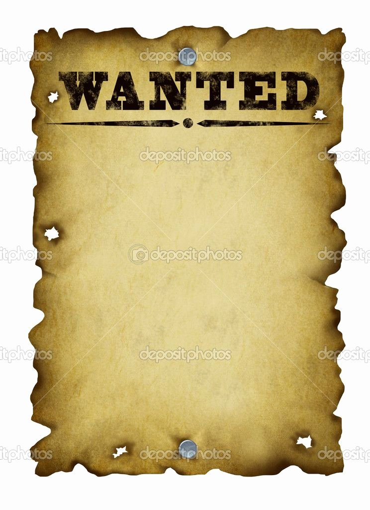 Free Wanted Poster Template Elegant Old West Wanted Poster Template Bing
