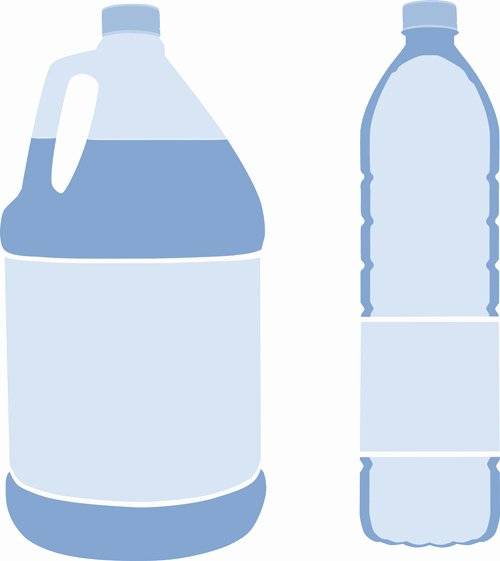 Free Water Bottle Template New Water Bottle Free Vector 3 552 Free Vector for