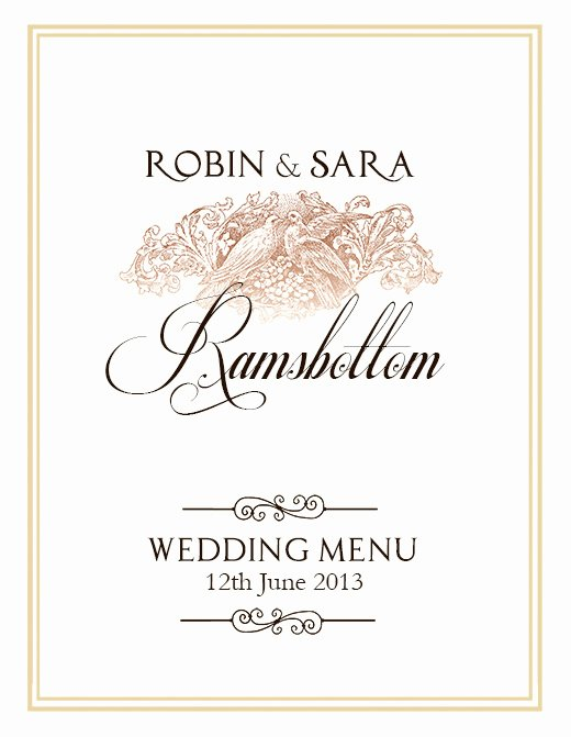 Free Wedding Menu Template Elegant Free Wedding Menu Design – Shop Templates On Behance