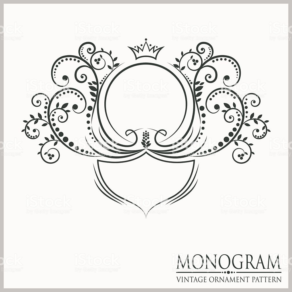 Free Wedding Monogram Template Awesome Template Wedding Monograms Stock Vector Art & More