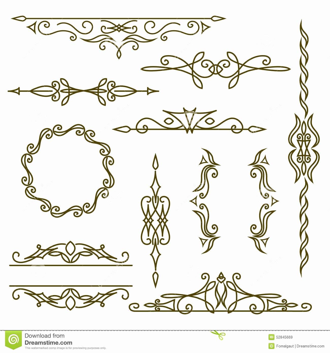 Free Wedding Monogram Template Elegant Elementi Di Pro Tazione Del Monogramma Modello Grazioso