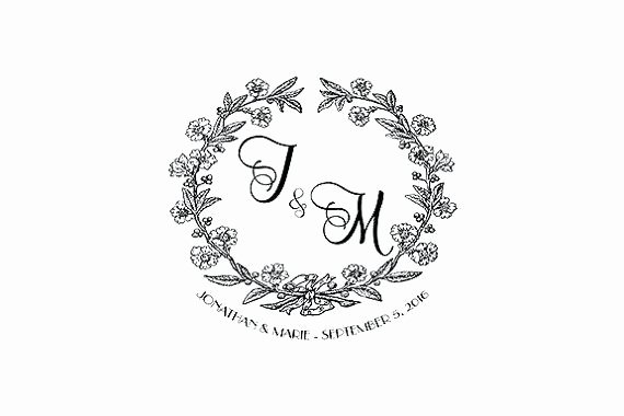 Free Wedding Monogram Template Lovely Wedding Monogram Template Free Printable Templates