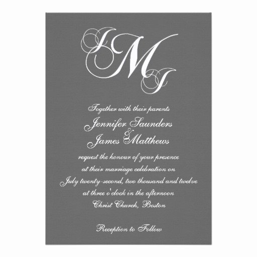 Free Wedding Monogram Template Luxury Wedding Invitation Wording Wedding Invitation Templates