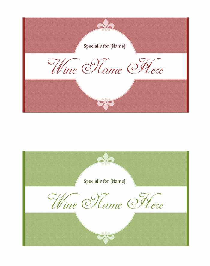 Free Wine Label Template Awesome Wine Label Template Make Your Own Wine Labels