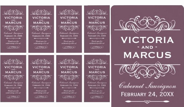 Free Wine Label Template Best Of 57 Best Creative Designs Of Wine Labels & Stickers