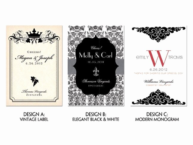 Free Wine Label Template Inspirational Items Similar to Customized Wine Labels Printable