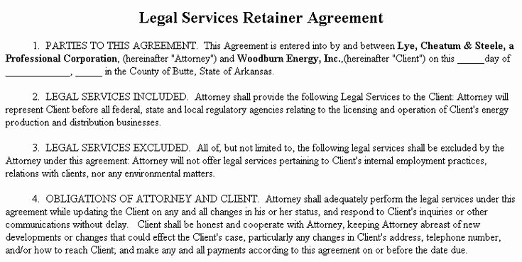 Freelance Retainer Contract Template Lovely 25 Best Ideas About Retainer Agreement On Pinterest