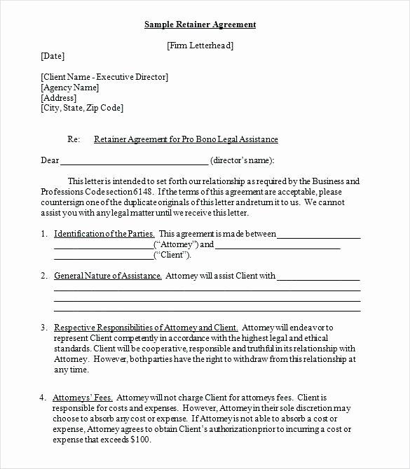 Freelance Retainer Contract Template Unique Design Agreement Template Freelance Graphy Contract