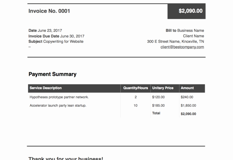Freelance Writing Invoice Template Lovely Sample Invoice for Freelance Writing Resume Templates