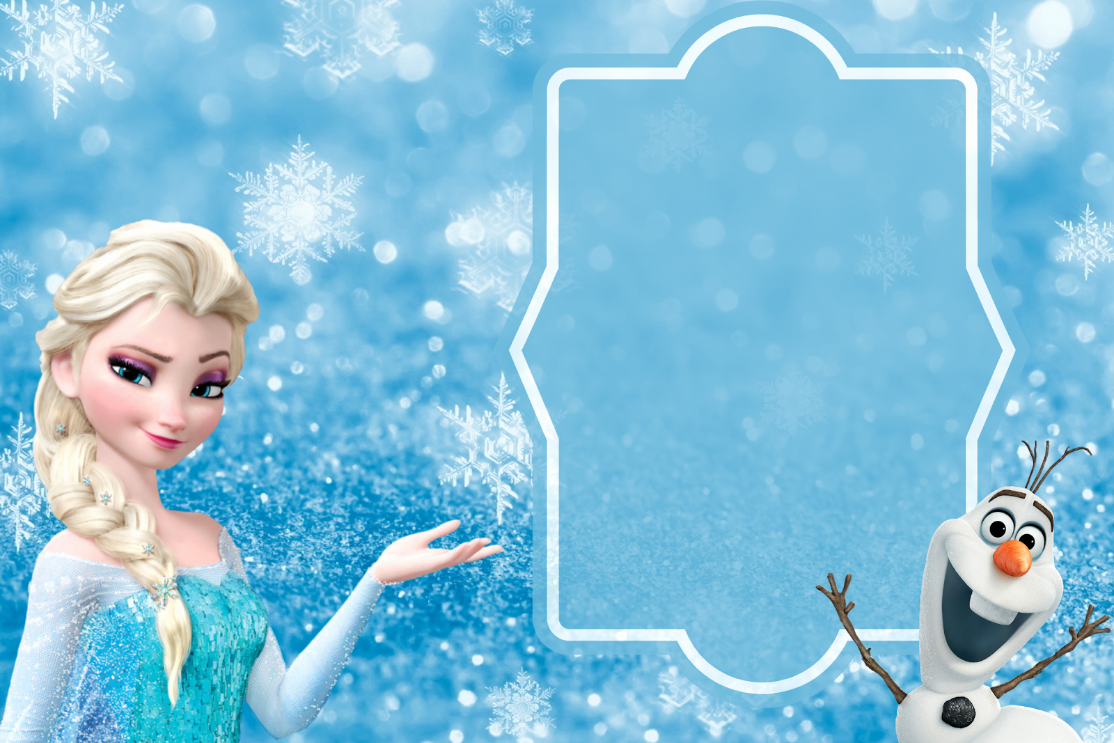 Frozen Birthday Invitation Template Luxury orchard Girls Free Frozen Birthday Party Invitations and