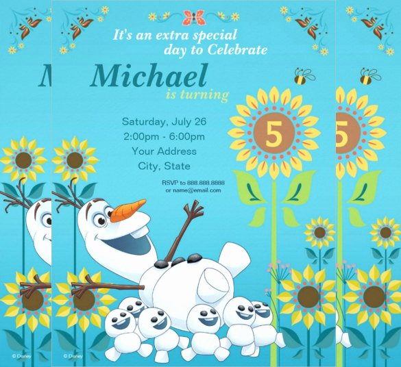 Frozen Birthday Invites Template Inspirational 23 Frozen Birthday Invitation Templates Psd Ai Vector
