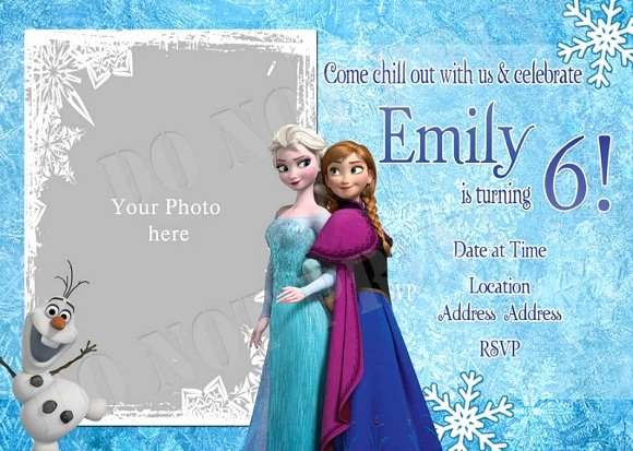 Frozen Birthday Invites Template Lovely Elsa Frozen Birthday Party Invitation Ideas – Free
