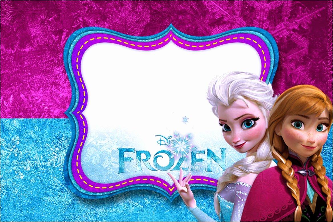 Frozen Birthday Invites Template Unique 24 Heartwarming Frozen Birthday Invitations