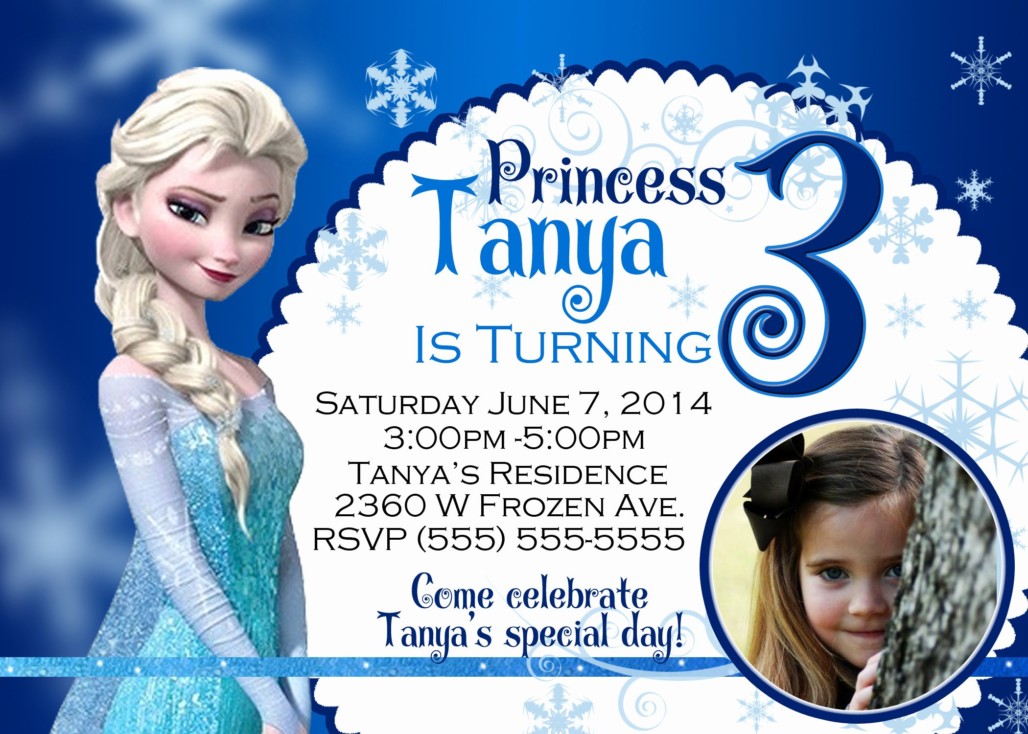 Frozen Invitation Template Free Beautiful Frozen Birthday Invitations