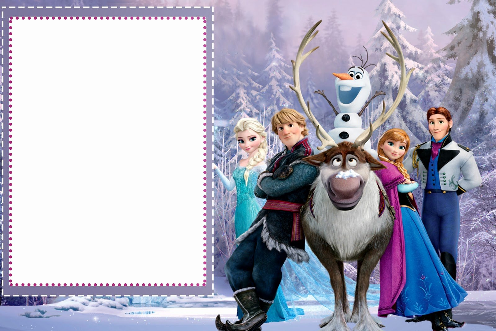 Frozen Invitation Template Free Unique Frozen Free Printable Cards or Party Invitations