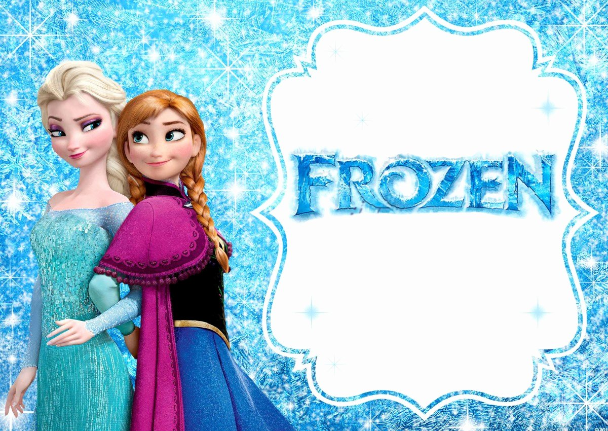 Frozen Invitations Template Free Fresh Frozen Free Printable Invitation Templates