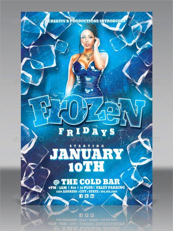 Frozen Invitations Template Free Luxury 23 Frozen Birthday Invitation Templates Psd Ai Vector