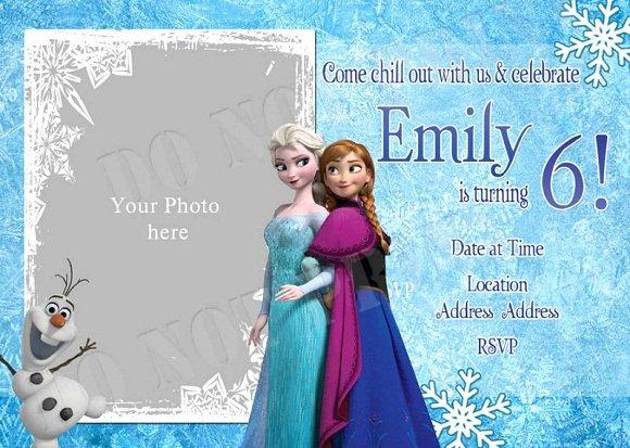 Frozen Invitations Template Free New Elsa Frozen Birthday Party Invitation Ideas – Free