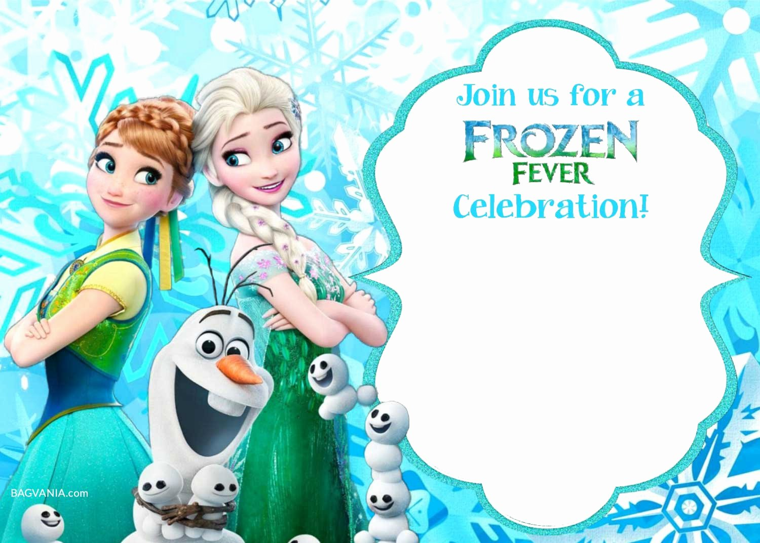 Frozen Invitations Template Free New Free Printable Frozen Invitation Templates – Free