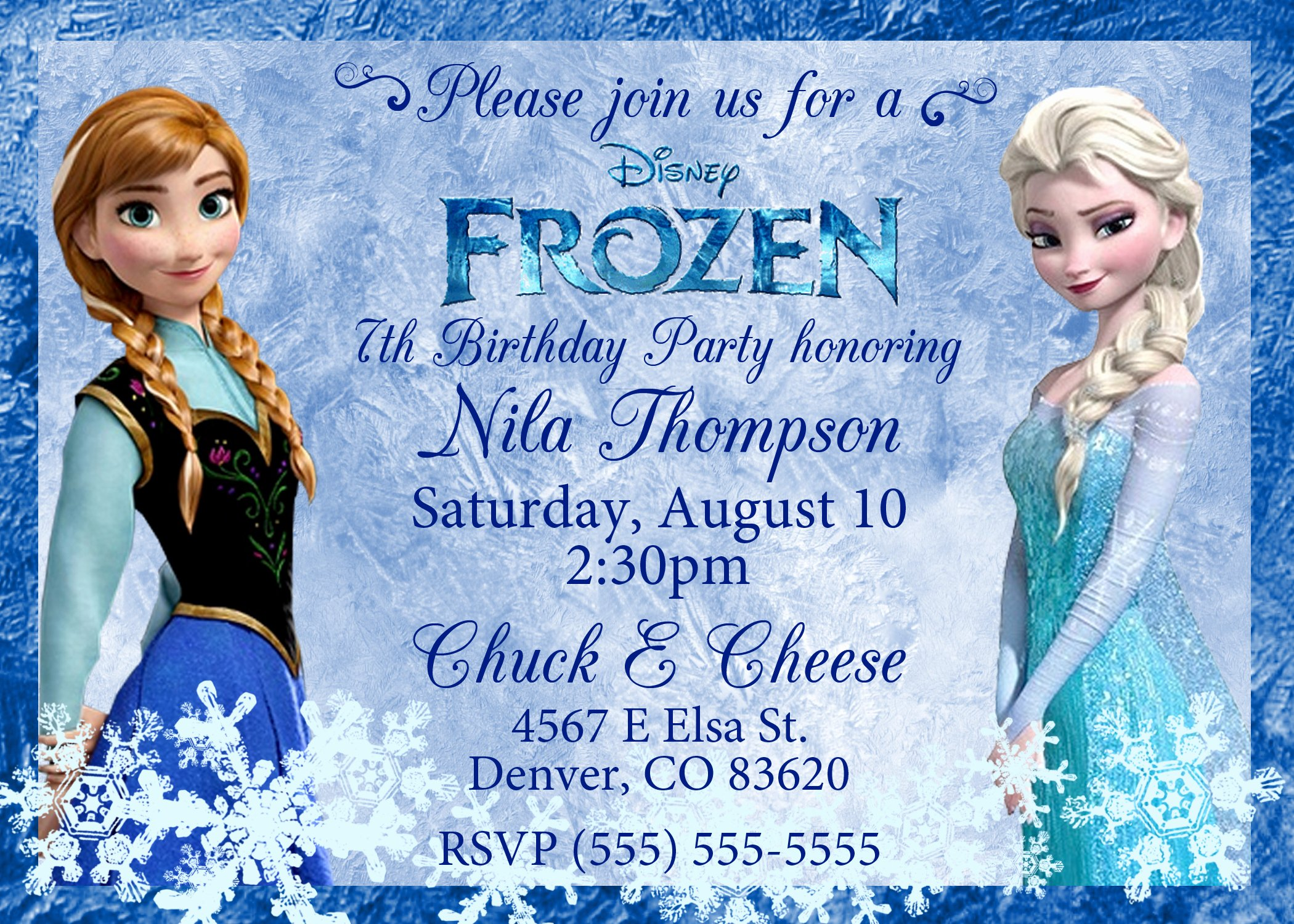 Frozen Invite Template Free Best Of Frozen 2013 Birthday Invitation