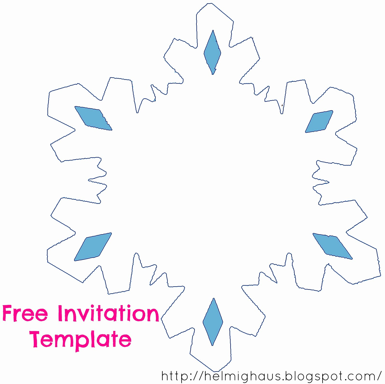 Frozen Invite Template Free Best Of Helmighaus November 2014