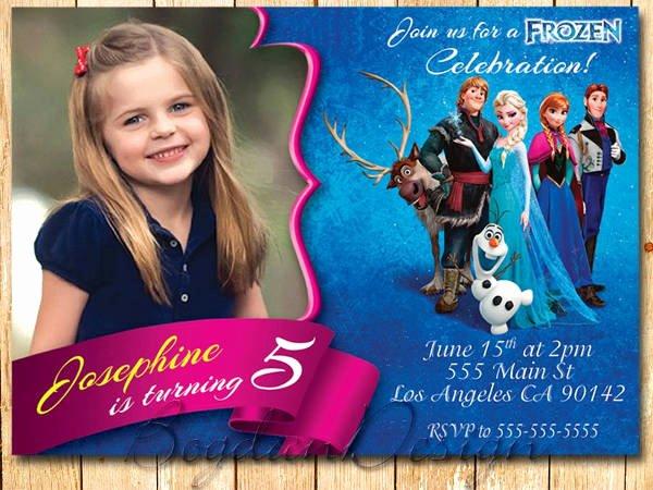 Frozen Invite Template Free Inspirational 13 Frozen Invitation Templates Word Psd Ai